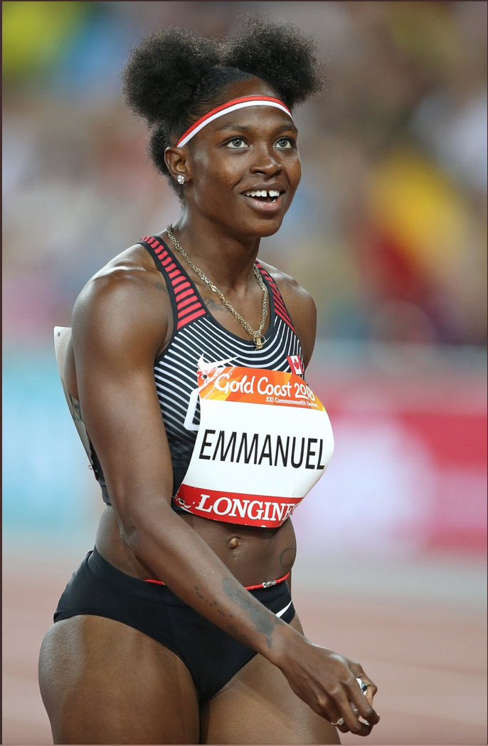 Crystal Emmanuel adds power and speed to Team Canada     photo; Athletics Canada