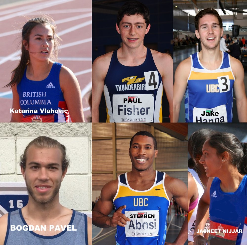 These athletes have participated in the Jerome Indoor Games in 2018