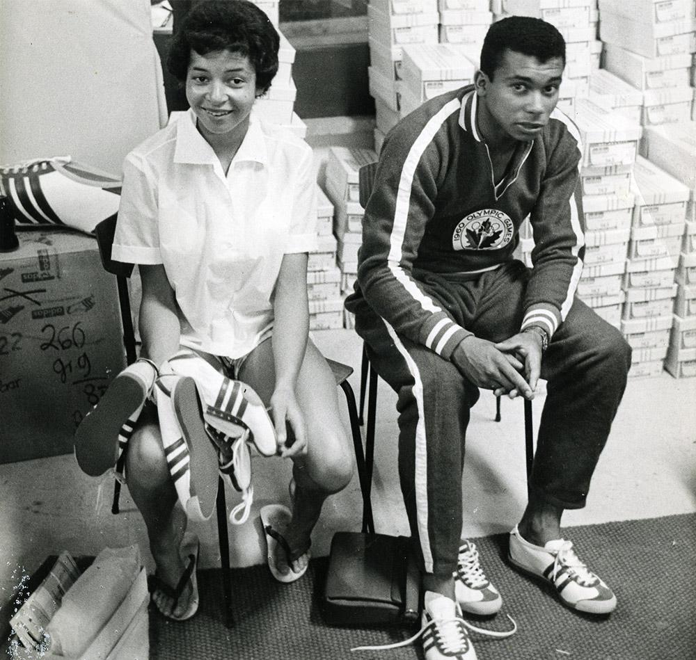 Valerie Jerome and Harry Jerome