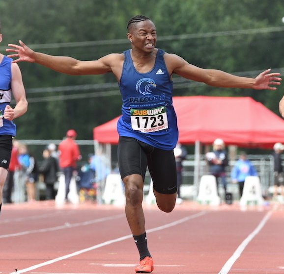 Kenny Blackman Jr was BC High School Champion over 100m last spring.