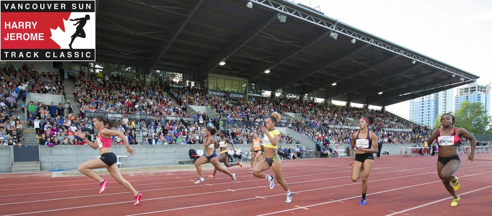June 20, 2019 for HARRY JEROME TRACK CLASSIC, SWANGARD STADIUM, BURNABY, BC