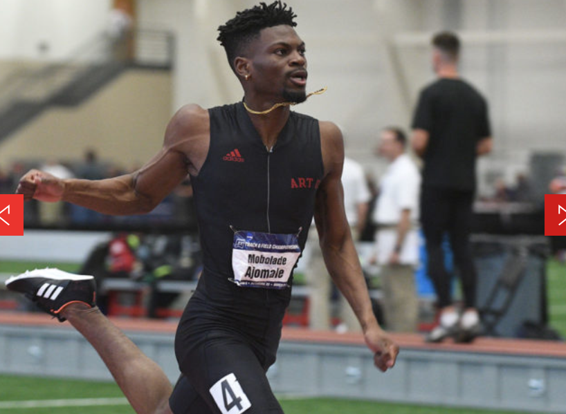 Bolade Ajomale wins NCAA Division 2 200m Title