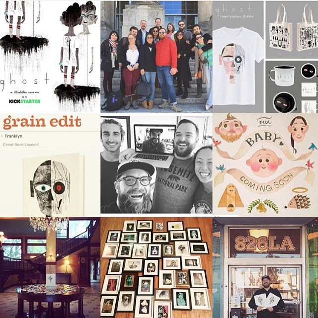 As the year comes to a close we're taking a moment to look back. A sincere thanks to all of you who have shown your support and come along on our journey. Wishing you all safe and happy holidays! 🙏🤗🌲🎁🙂 #thankful #happyholidays #givethanks #theillustratus #ghostbook #smallbusiness #art #artist #artlife