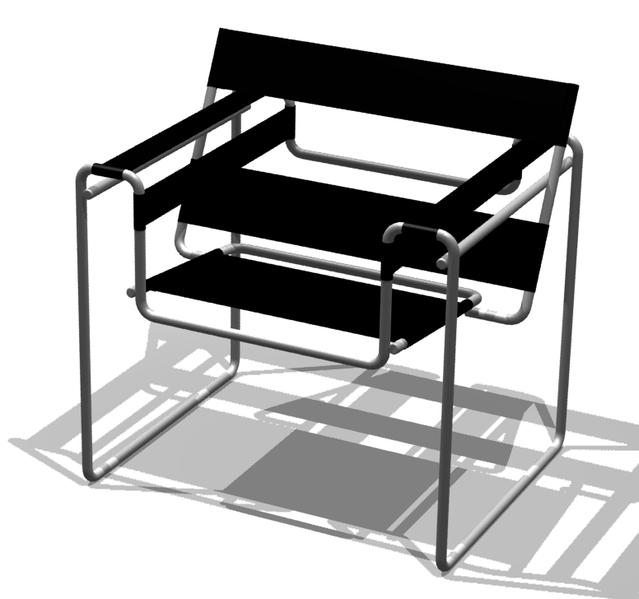 Καρέκλα Bauhaus