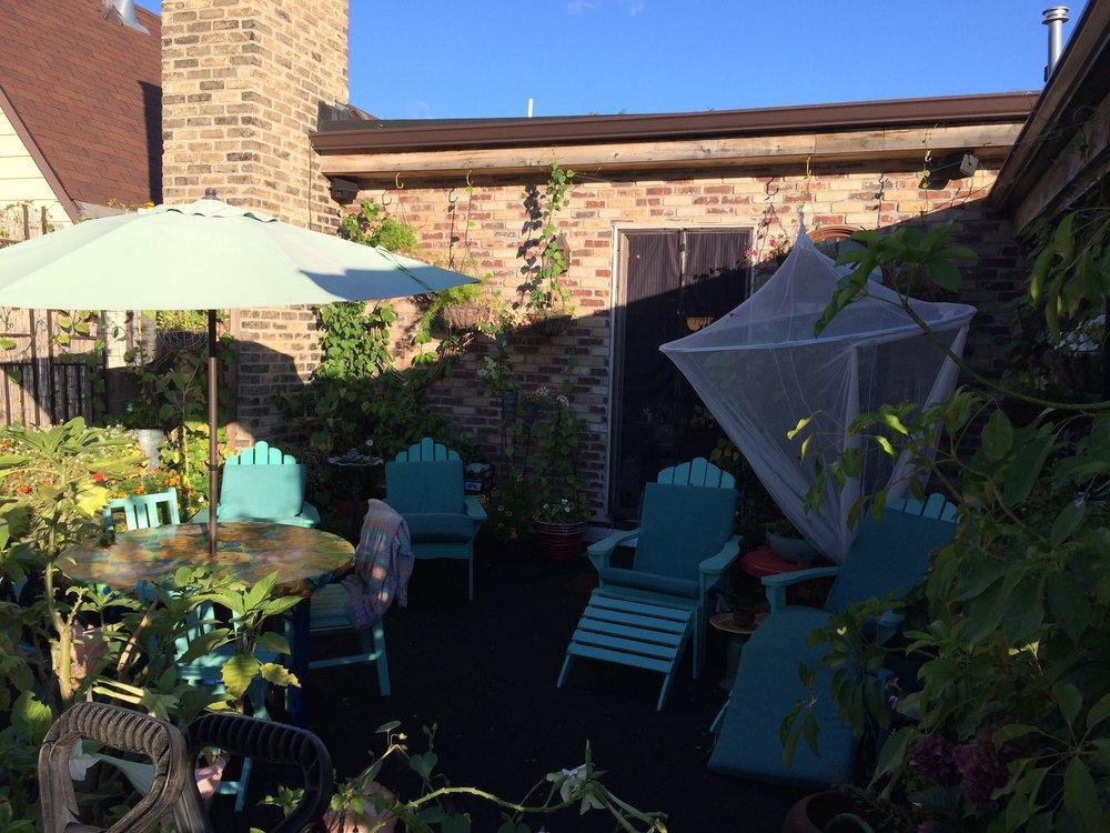 Roof top Garden- Landing