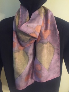 Eco Print On Silk Scarves Class Artista Bottega