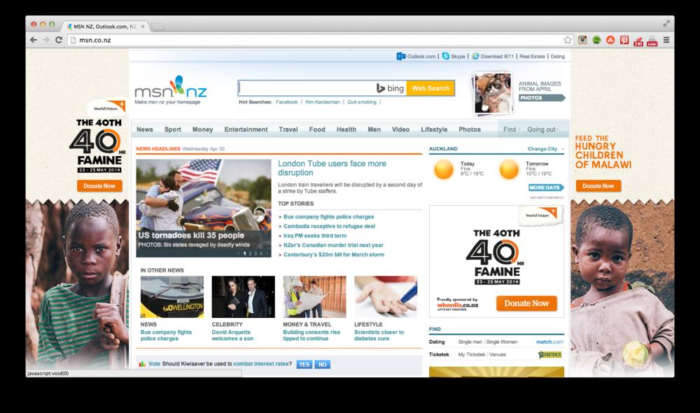 Online Advertising.