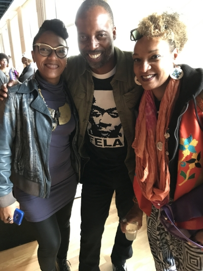 DJ Kemit with Les Nubians
