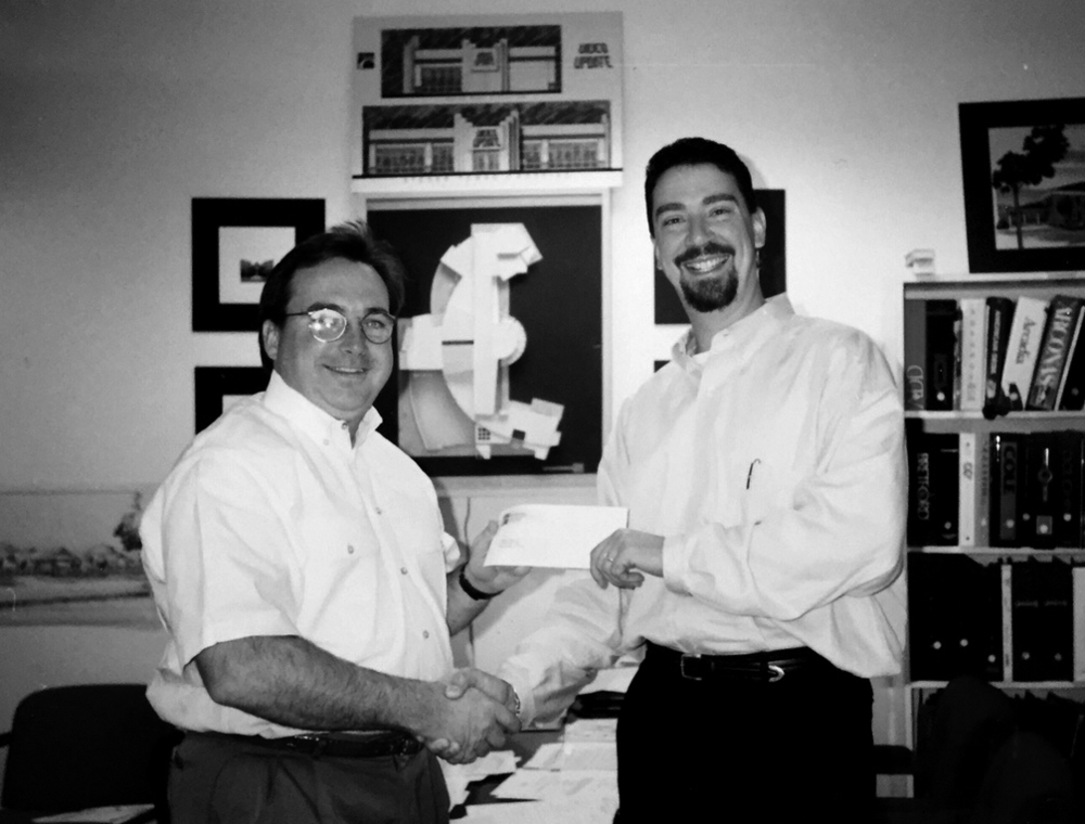 CGA BEGINNIGS - Tom curtis and james spencer in 1996