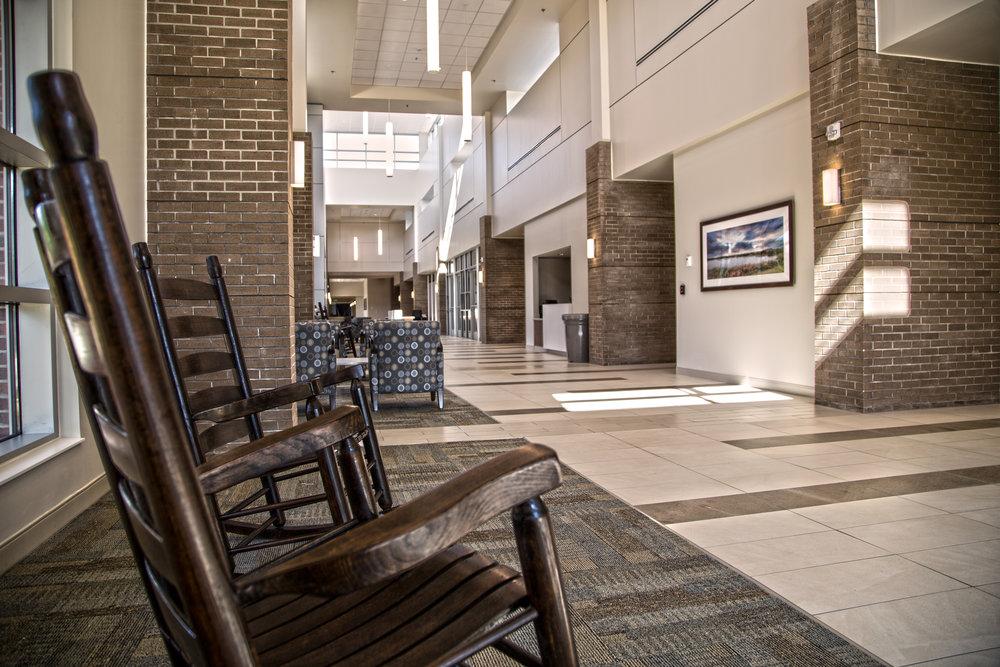 Tidelands Georgetown Memorial HOspital New Entrance