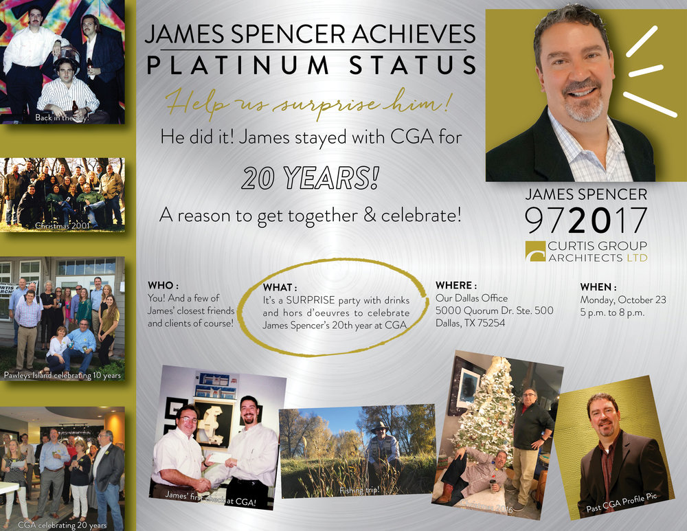 James' 20th Anniversary Party