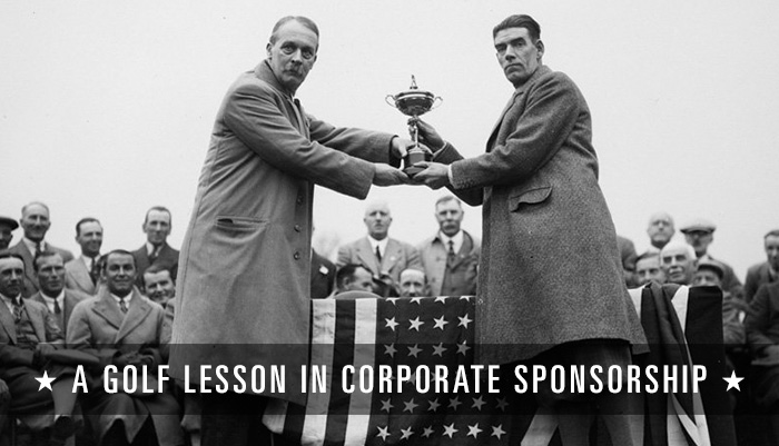 A Gold Lesson in Corporate Sponsorship