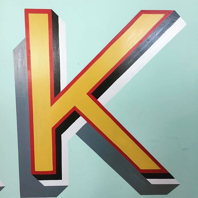 'K' is for kinfolk // Love this little letter sent in by our mate @iamjamesbarley — that chap's got quite the eye for these things! • • • #weareagentk #London #behindthescenes #photography #photographer #londonphotographer #soho #creative #industrial #londonlife #bestoftheday #creativespaces #freelance #socialmedia #womenintech #womenindigital #inspiration #design #typography #lettering #type #font #abmlifeiscolourful #turquoise #communityfirst