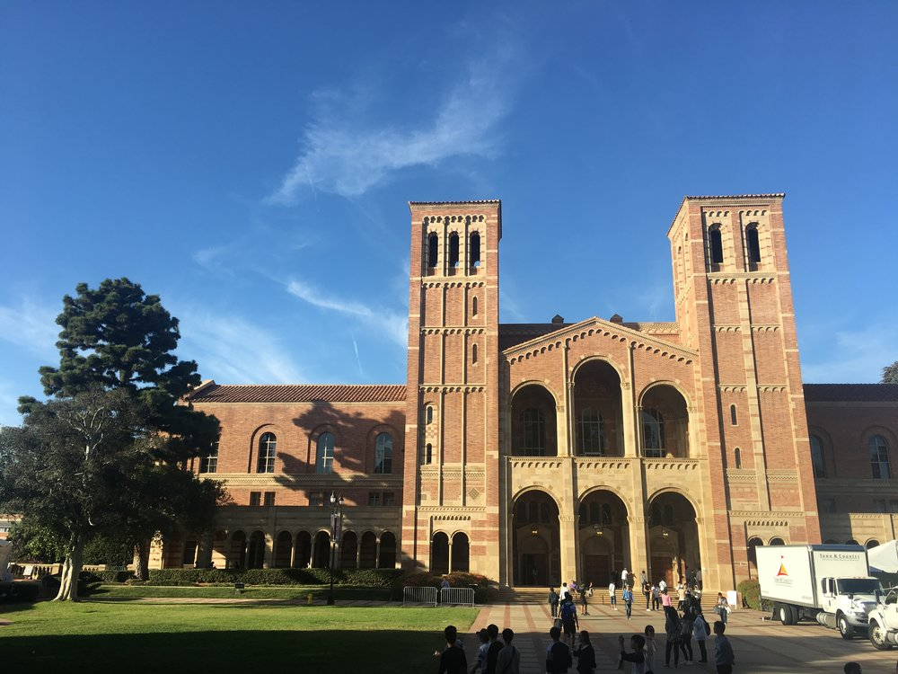 Royce Hall, the most Instagrammed building at UCLA