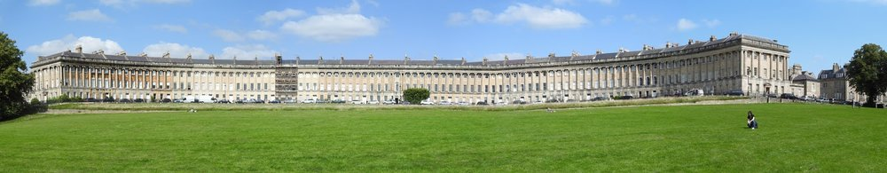 Royal Crescent, Bath, by Xiquinhosilva