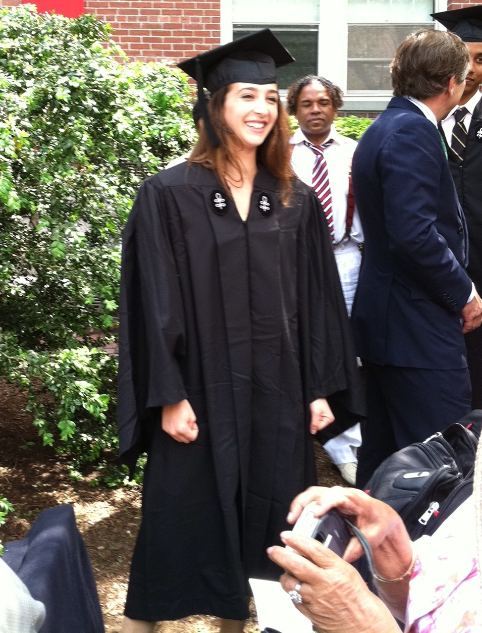 Flashback to graduation day for our Co-Founder & COO,  Lindsay ! The typical Harvard student.