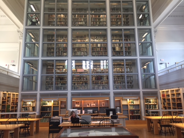 Inside of the libary