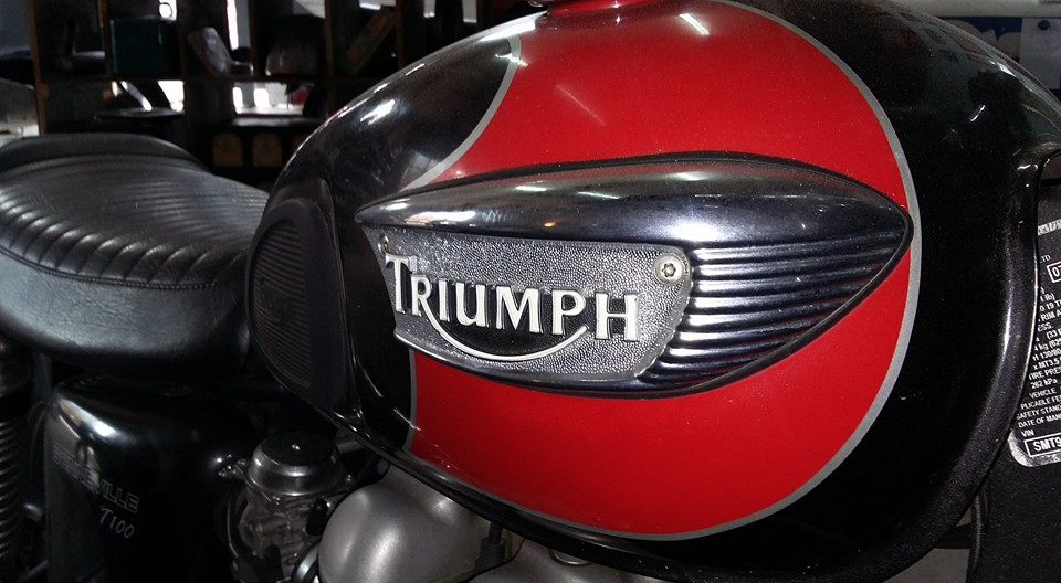 Triumph Upgrade and repair