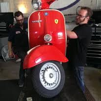 Expert  Factory Trained PIAGGIO VESPA Restoration and Service