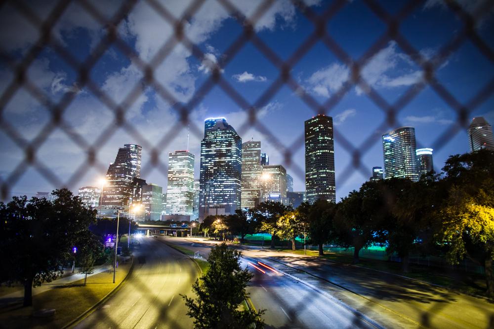 Houston By Night Thomas Chen Photography