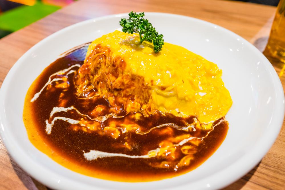 Omu Curry Rice