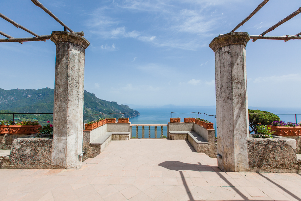 One of the best views on the Amalfi Coast.  Keep walking a bit more...