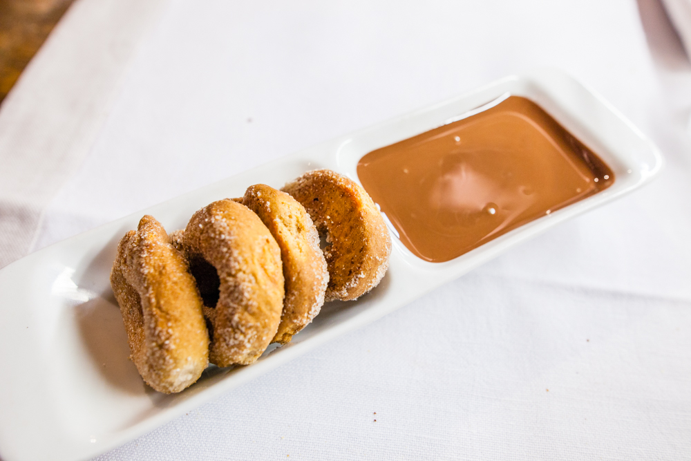 Complimentary cookies with a nutella-like dipping sauce.  The perfect night cap to a busy day of exploring.  One more stop left on this unforgettable honeymoon.  Read on to see where we go next!