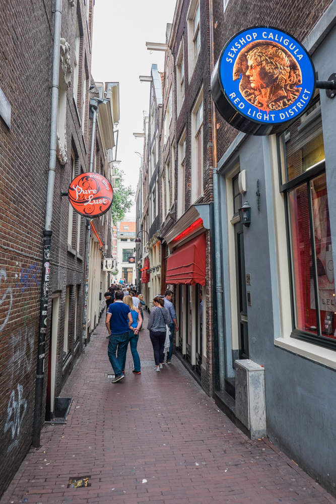 Alley in the Red Light District