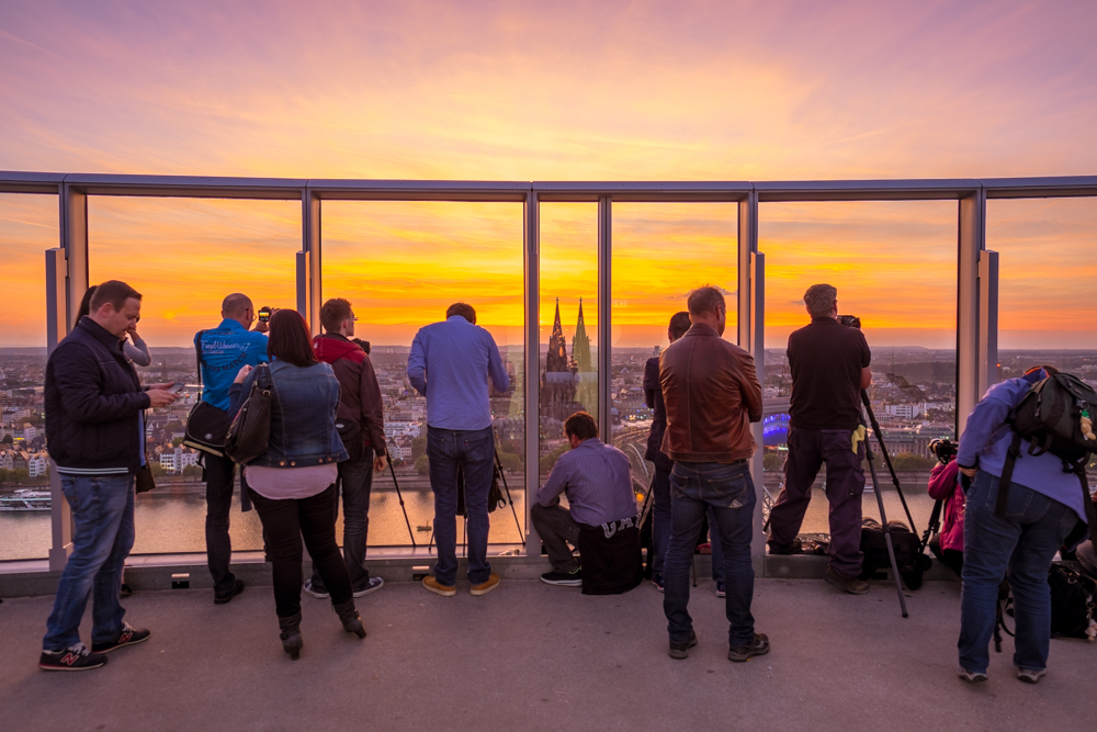 All of the other photographers were camped out for the sunset