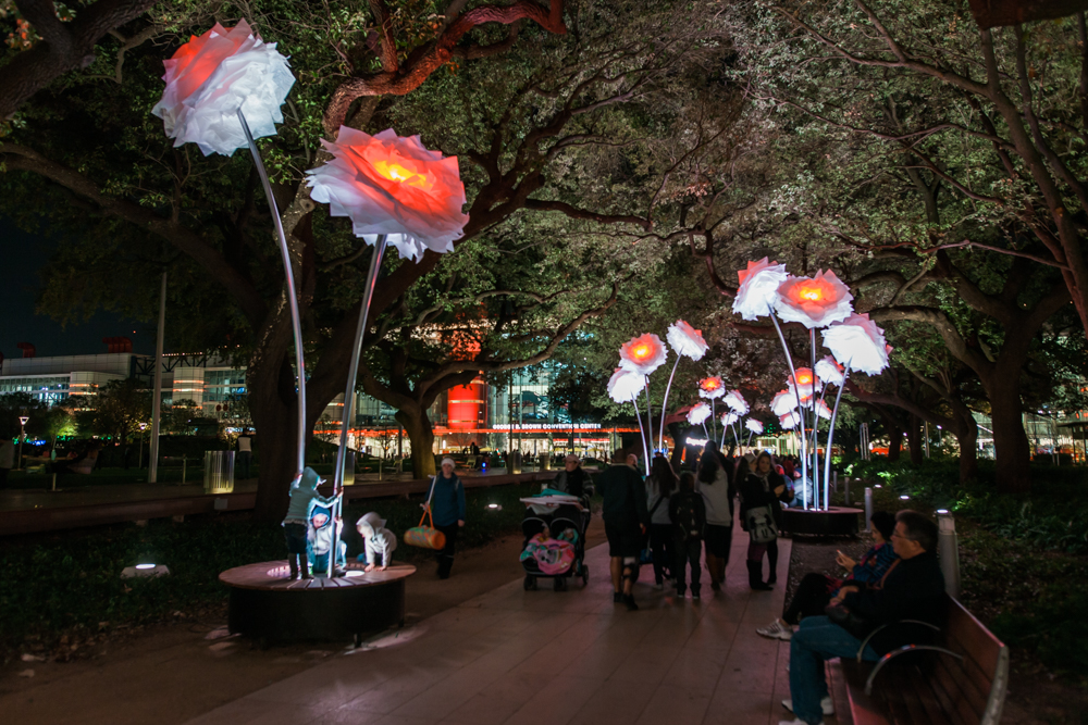 enchanted promenade discovery green houston