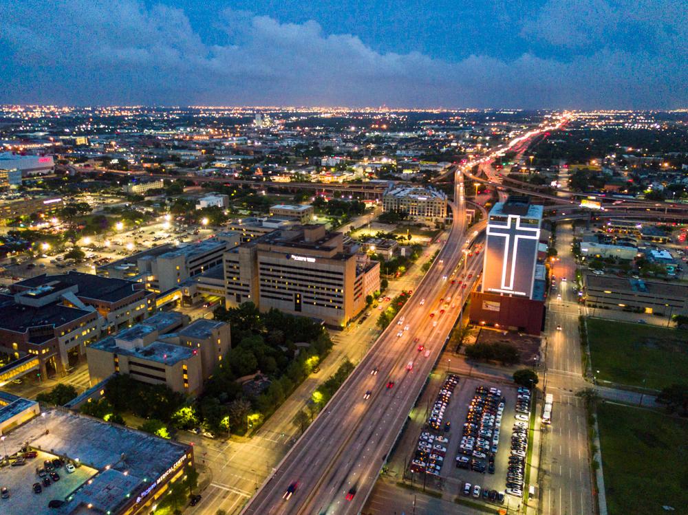 downtown houston drone dji mavic pro