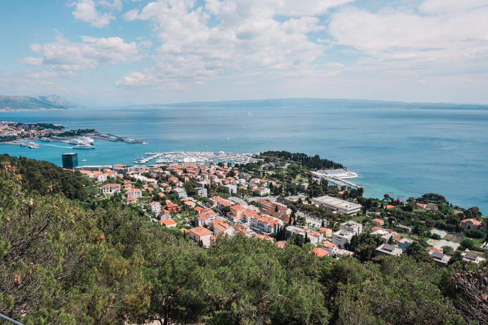 marjan park split croatia