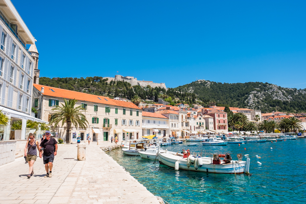 We were able to walk around Hvar without needing any other modes of transportation. However, you can rent a moped if you'd like to explore the island a little more.