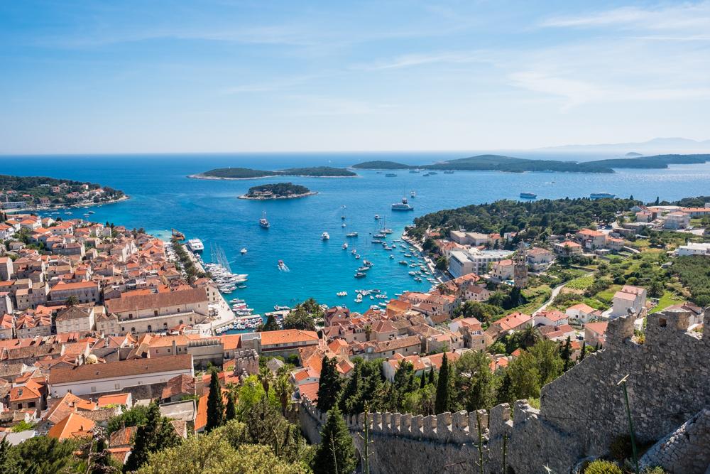 hvar fortress croatia