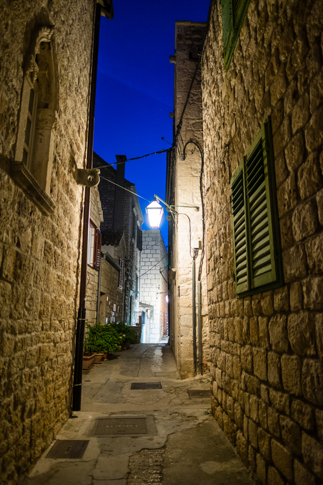 The alleys of Hvar are narrow and filled with many stairs. Keep this in mind if you happen to get an apartment in the city. Luckily, we had rolling luggage that also converted into backpacks. A lifesaver for us!