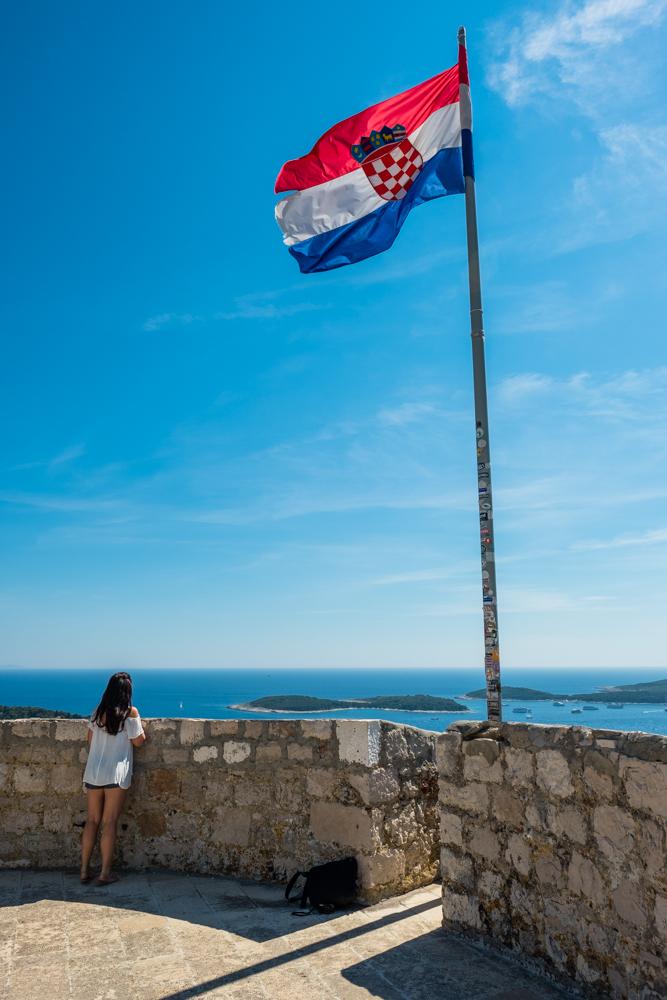 hvar fortress spanjola croatia