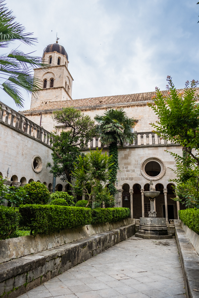 The Cloister in the Franciscan Monastery