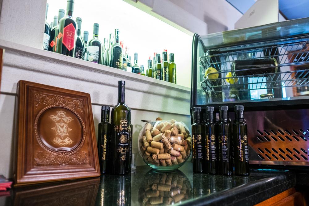 Malvasija Wine Bar in Old Town Dubrovnik