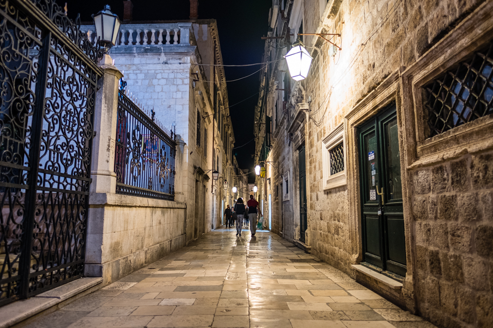 Wandering the alleys of Old Town Dubrovnik