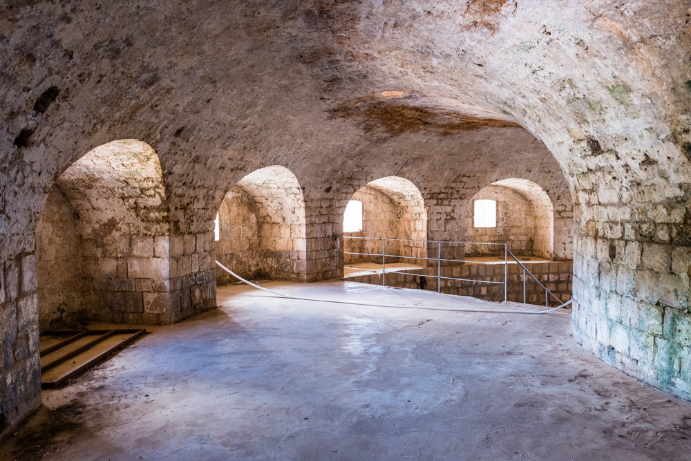fort royal lokrum island dubrovnik croatia