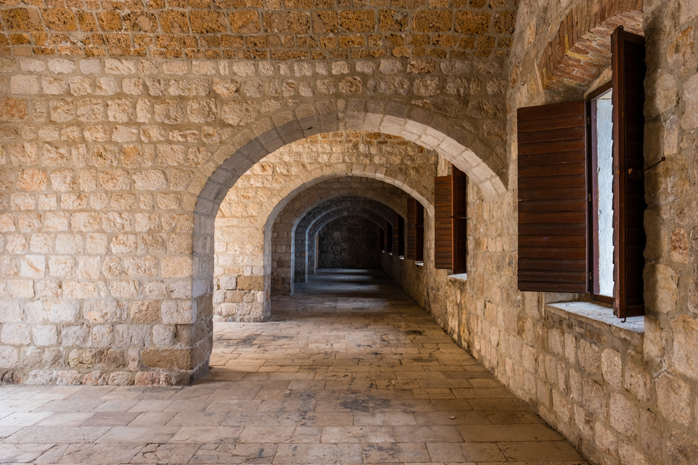 More views from inside the walls of Fort Lovrijenac. Plan enough time to explore, there's a lot to see!