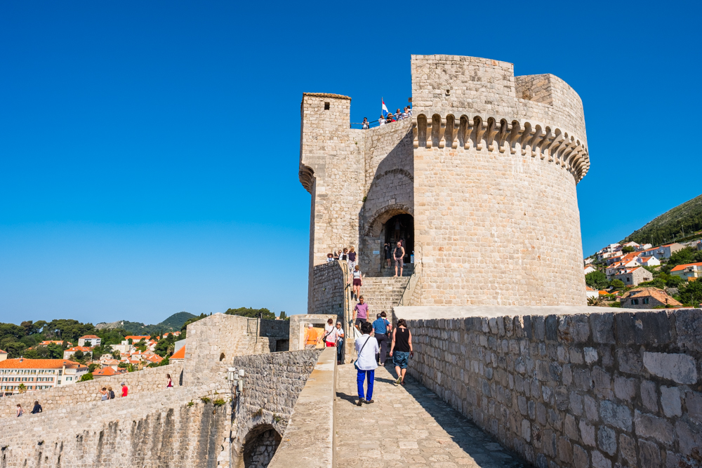 Minceta Tower was completed in 1464, now serves as a museum.