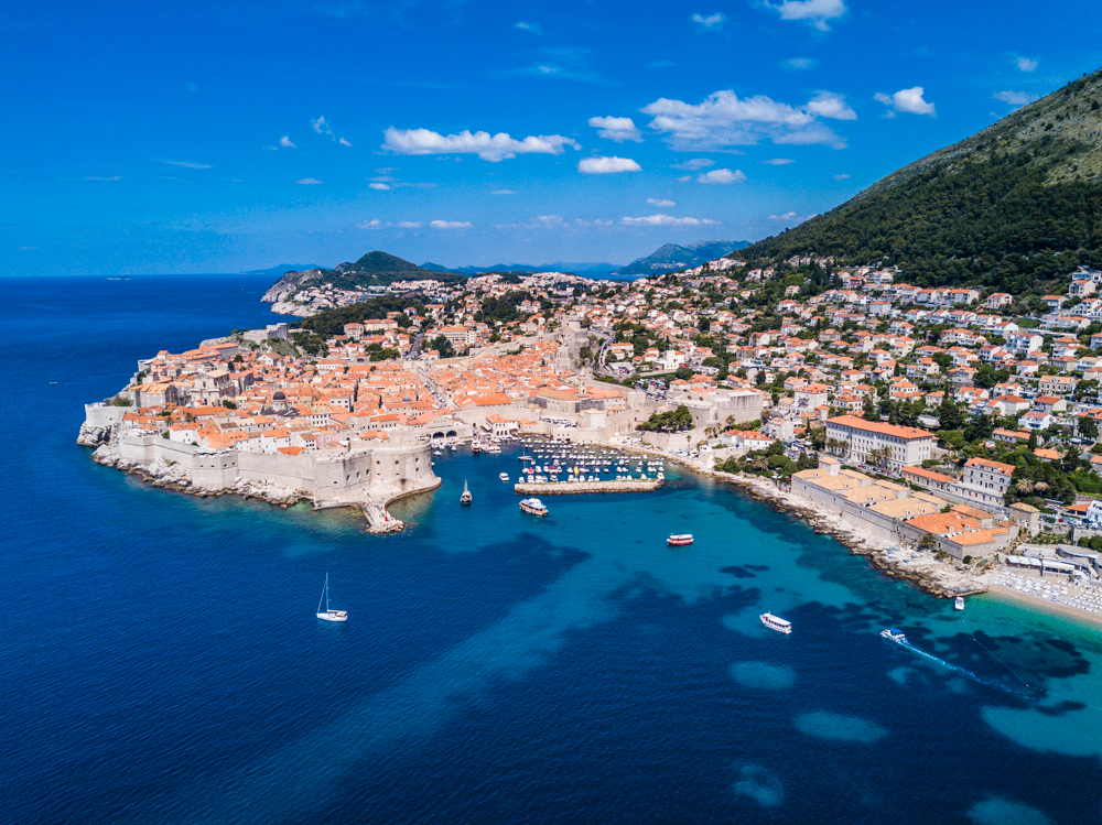 Old Town Dubrovnik, a picturesque European town