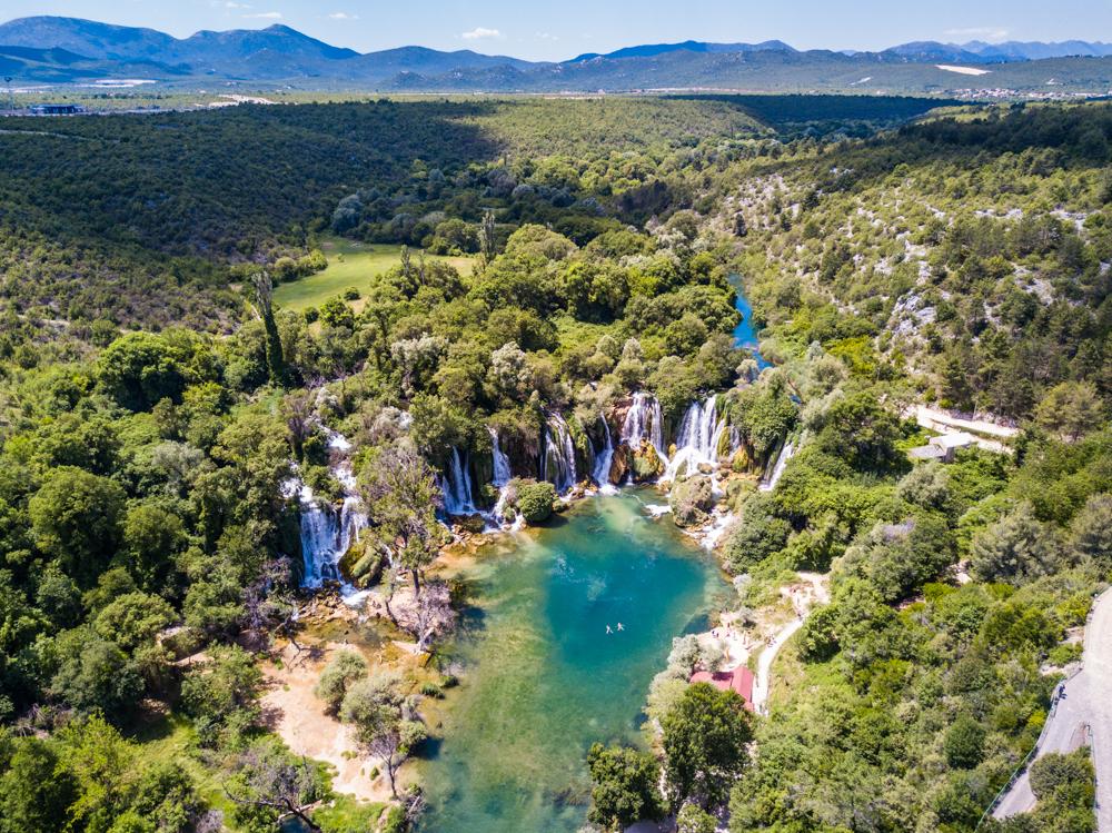 kravice falls mostar bosnia herzegovina