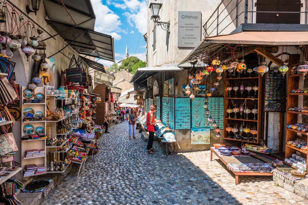 The Bazaar in Mostar