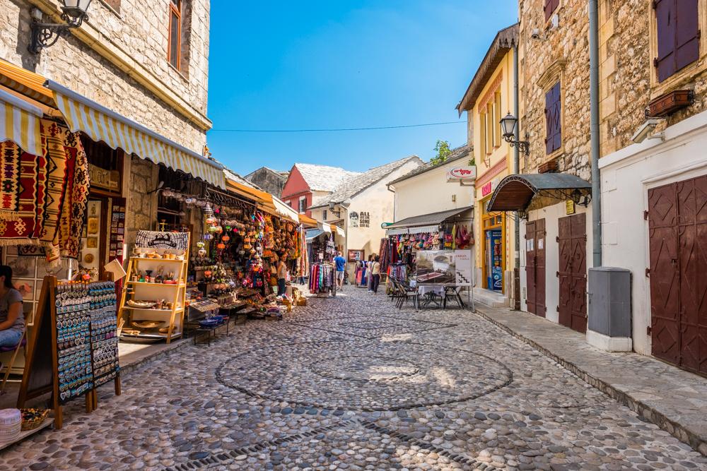 mostar bosnia herzegovina bazaar