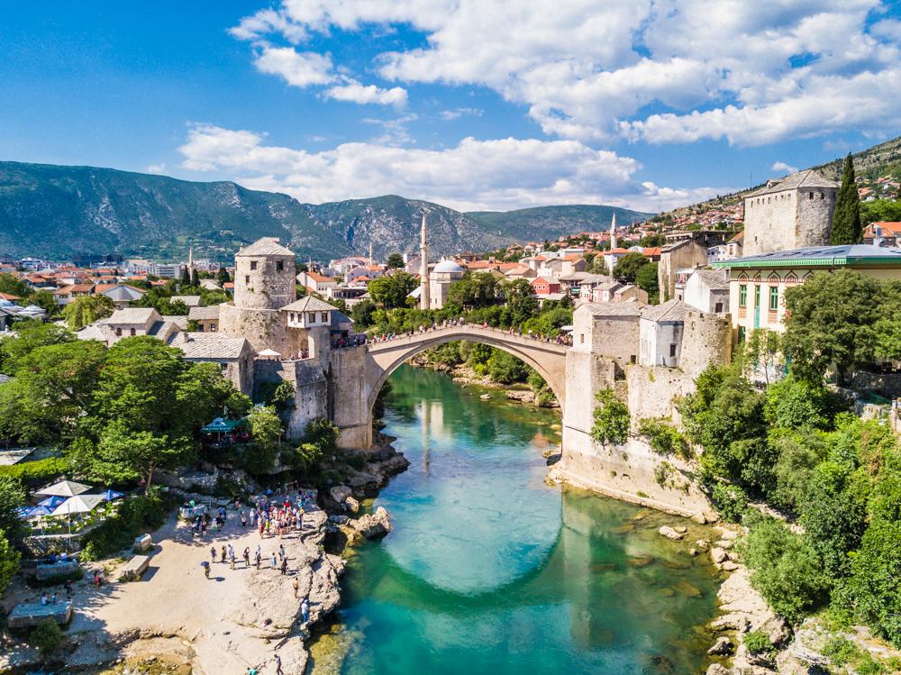 mostar bosnia herzegovina stari most old bridge