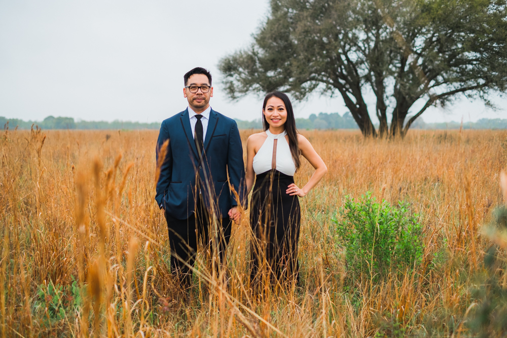 houston portrait couple engagement wedding