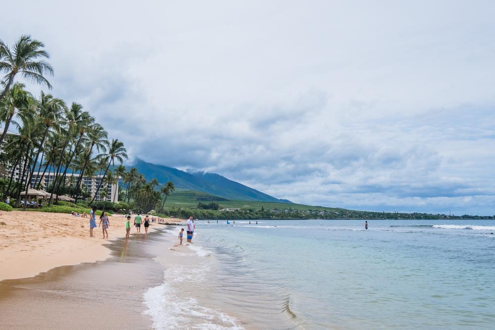 maui hawaii kaanapali beach