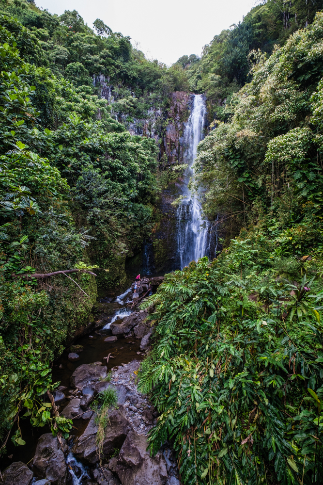 wailua falls maui hawaii